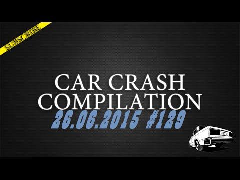 Car crash compilation #129 | Подборка аварий 26.06.2015