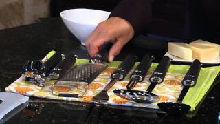 Fine Cut Long Grater Demo Video Icon