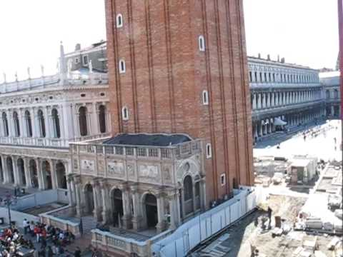 ecinajx19 - Several views around Saint Mark's Plaza in Venice, Italy, including the oceanside at the Riva nearby.