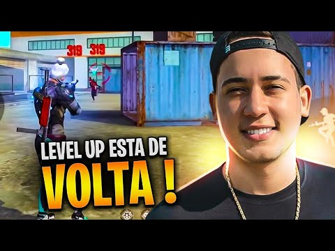 FREE FIRE AO VIVO 🔥 LEVELUP ESTA DE VOLTA RS!  🔥 SOLO RANKED 🔥 LIVE ON