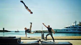 World's Craziest Teeterboard Flips