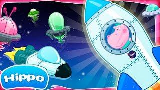 Jogos de meninas - Hippo  Jornada para crianças  Exploradores do espaço  Revisão do Jogo