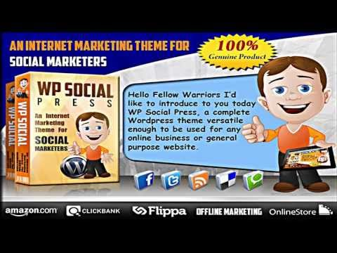 WSO WP Social Press PLR Review – HOT WordPress Theme PLR Offer!