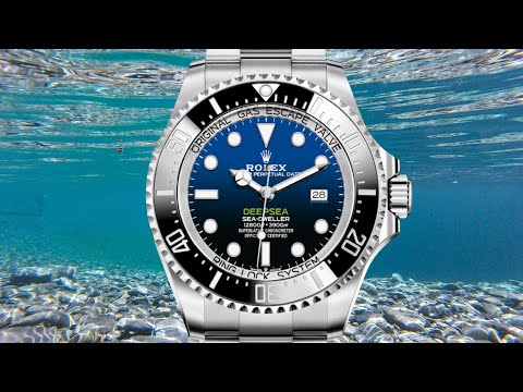 "Review: Rolex Deepsea Sea-Dweller D-Blue ""James Cameron"""