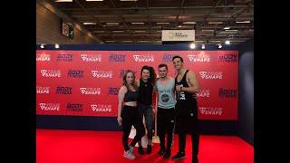 Vlog et rencontre au salon du fitness 2019 avec Tibo Inshape & Jujufitcat