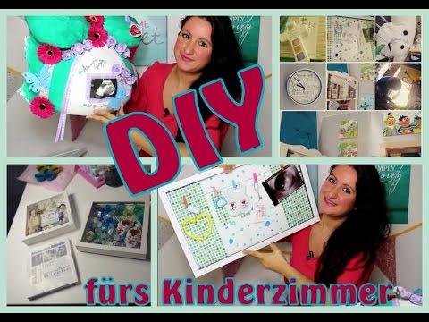 Kinderzimmer DIY Ideen l Babybauchabdruck l Schnullerdeko l Taufdeko