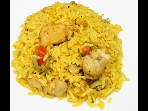 How To Make Puertorican Arroz Con Pollo (Rice With Chicken)