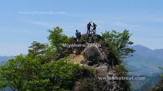 春の岩櫃山