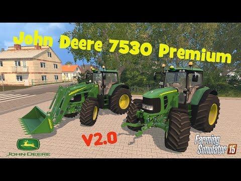John Deere 7530 Premium v2 Edit Kubo