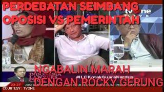 Video ILC ROCKY GERUNG || PERDEBATAN ROCKY GERUNG DENGAN DR. NGABALIN MP3, 3GP, MP4, WEBM, AVI, FLV Maret 2019