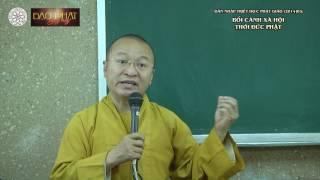 Dẫn nhập Triết học Phật giáo(2014) 03: Bối cảnh xã hội thời đức Phật - TT. Thích Nhật Từ