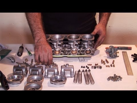 Motorcycle Mikuni CV Carburetor Cleaning for Suzuki, Honda, Yamaha Tutorial