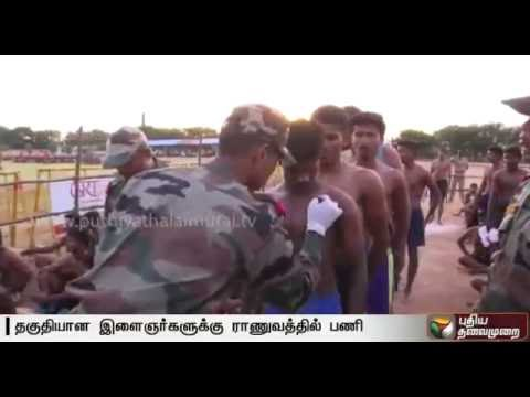 Army-selection-camp-held-in-Thiruvannamalai