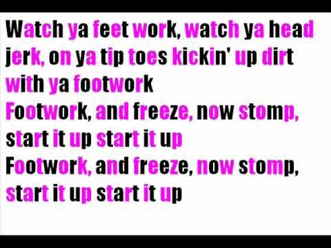 Footworkin   KeKe Palmer lyrics