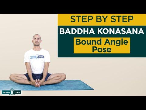 Baddha Konasana (Bound Angle Pose)