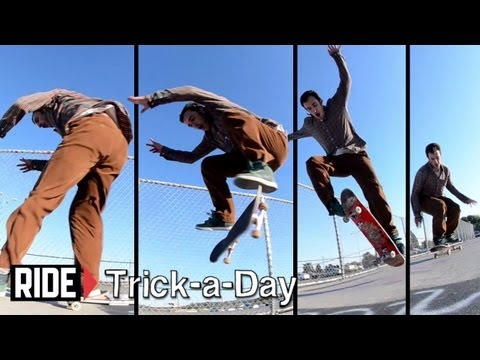Tony Manfre - Learn a new trick each and every day from top pros. You'll get step-by-step instructions on how to master every trick in skateboarding! Tune in seven days a ...