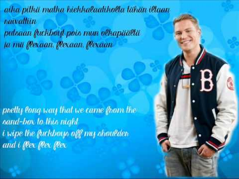 Cheek feat. Sanni & VilleGalle - Flexaa (Lyrics & English Subs) tekijä: JippikayjeiGirl