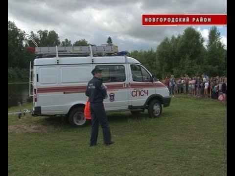 В детском лагере Волынь сегодня прошли масштабные учения МЧС