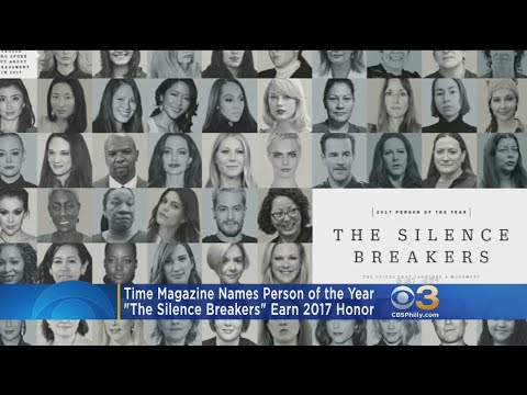 'The Silence Breakers' Earn 2017 Time Magazine Person Of The Year
