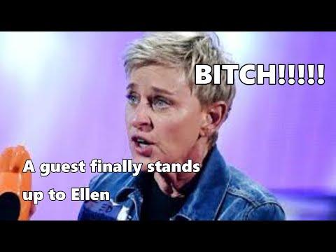 Cher calls Ellen Degeneres a BITCH live on her show!