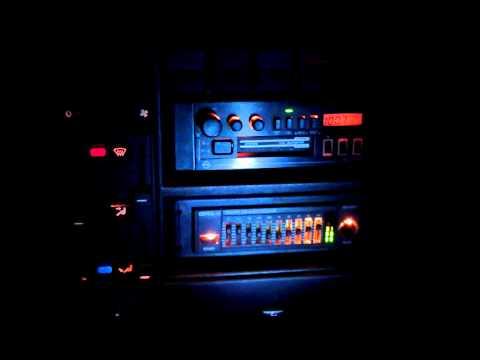 Opel Omega A 88' soundsystem (видео)