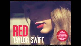 Taylor Swift - Red (Instrumental With Background Vocals)