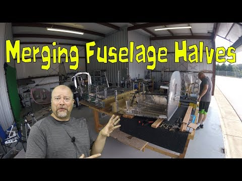 RV-10 Fuselage - 018 - Merging the fuselages - Build for profit? - Need a hangar?