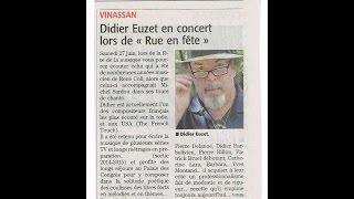 Didier Euzet - TOUR de CHANT (démo)