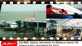 Video Philippines Air Asia Z2 885 Seoul Incheon to Manila Airbus A320 MP3, 3GP, MP4, WEBM, AVI, FLV Agustus 2018