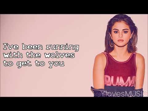 Selena Gomez ft. Marshmello - Wolves (Lyrics) (видео)