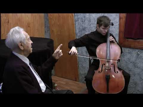 Евграфов Л.Б. Особенности обучения слепых студентов игре на виолончели в сопровождении basso continuo