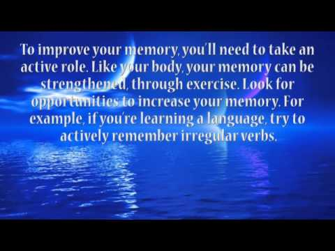 Advanced Intermediate English Listening and Reading Exercise 9 – Improve Your Memory