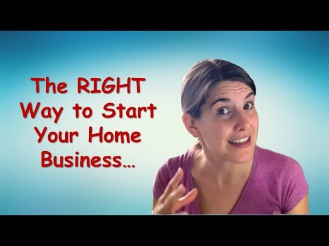 3 Steps to Start A Home Business Off Right!