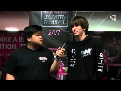 Interview with Dendi of Na´Vi, @DH Bucharest