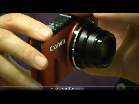 Canon PowerShot SX280 HS Unboxing