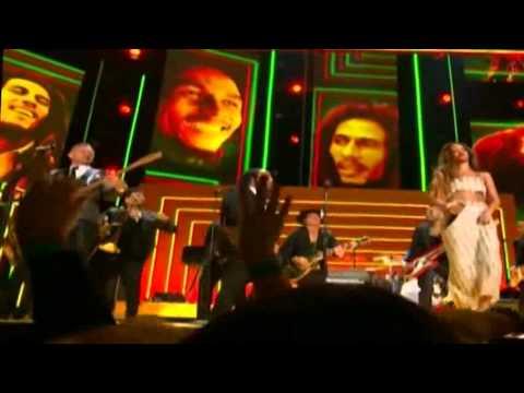 Rihanna & Bruno Mars & Sting - Tributo a Bob Marley