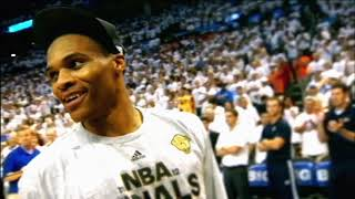 Russell Westbrook Gets Standing Ovation And Tribute Video In Return To OKC
