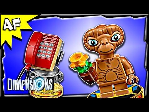 Vidéo LEGO Dimensions 71258 : E.T. l'Extra-terrestre