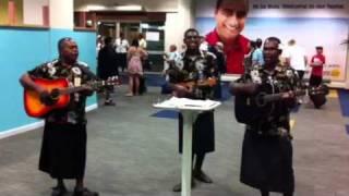 Fiji Singers At Fiji Airport...