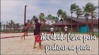 Atividade física para praticar na praia