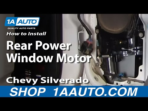 Download how to install replace fix power window regulator for 2002 chevy silverado window regulator