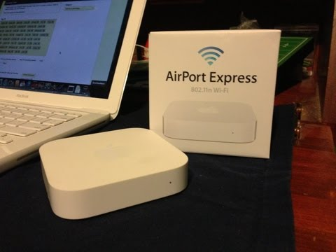 comment installer airport express