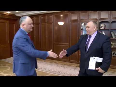 Президент Республики Молдова провел встречу с председателем Каларашского района