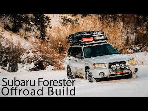 Subaru Forester Offroad Build (видео)