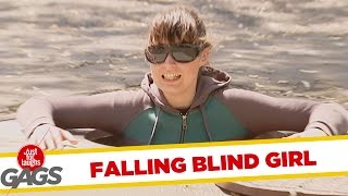 Blind Woman Falls in the Sewers, Just for laughs, Just for laughs gags, Just for laughs 2015