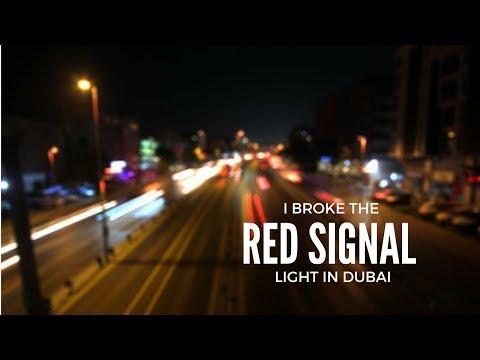 I BROKE THE RED SIGNAL LIGHT IN DUBAI RAMADAN DAY #10 - Yousuf Vlogs