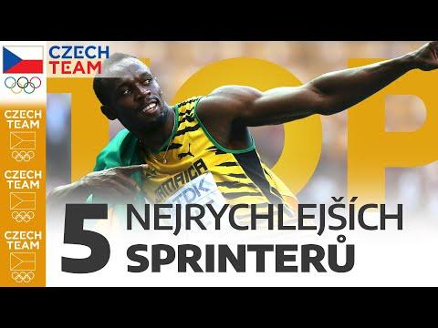 TOP: 5 nejrychlejších sprinterů
