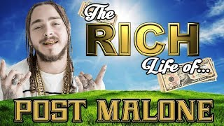 Video POST MALONE | The RICH Life | 2017 FORBES Net Worth ( Cars, House, Tattoos, & Popeyes ) MP3, 3GP, MP4, WEBM, AVI, FLV Mei 2019