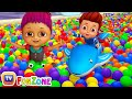 Download Lagu Surprise Eggs Ball Pit Show for Kids to Learn ALL Colours | ChuChu TV Funzone 3D for Children Mp3 Free