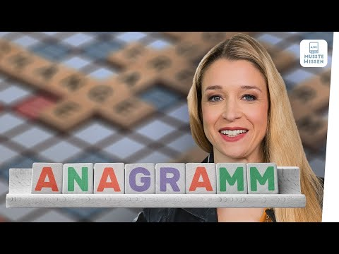Anagramme | Schüttelwörter und Buchstabenrätsel